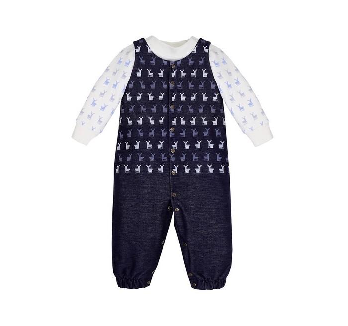 Мамуляндия Комплект для мальчика Северное сияниеКомплекты детской одежды<br>Мамуляндия Комплект для мальчика Северное сияние - замечательный комплект для мальчика из коллекции Северное Сияние. Полукомбинезон выполнен из трикотажной джинсы, а джемпер - из трикотажа высшего качества (интерлок-пенье). Удобное расположение кнопок сделает процесс переодевания малыша быстрым.