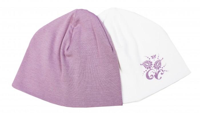 Шапочки и чепчики Мамуляндия Комплект из 2-х шапок для девочки Ноктюрн 17-4019 ноктюрн пифагора