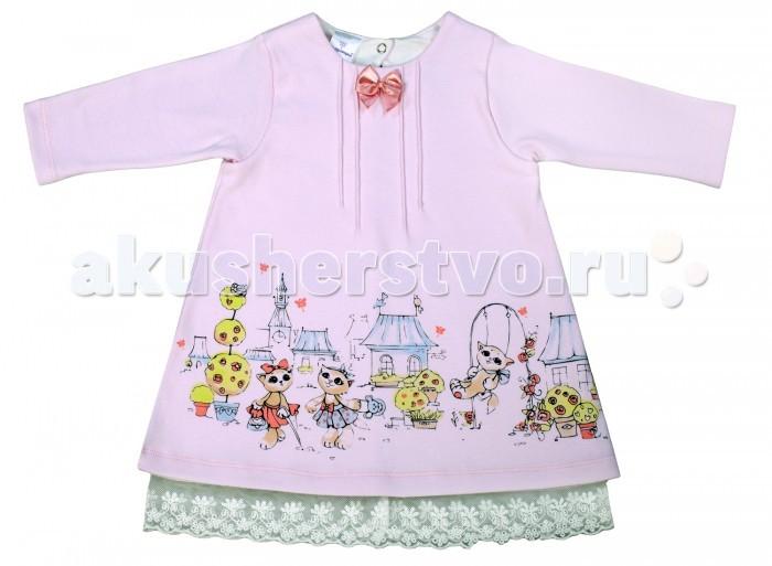 цены на Детские платья и сарафаны Мамуляндия Платье для девочки Мультяшки 17-606 в интернет-магазинах