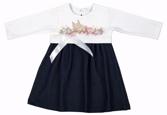 цены на Детские платья и сарафаны Мамуляндия Платье для девочки Мультяшки 17-609 в интернет-магазинах
