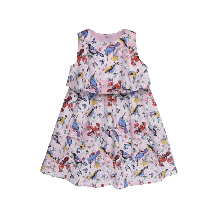 Мамуляндия Платье для девочки Райские птички 19-424