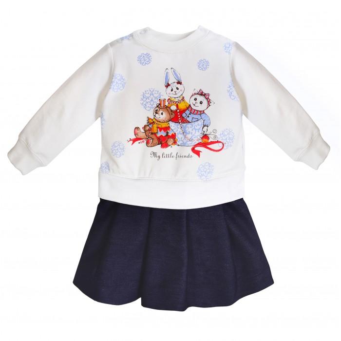 Мамуляндия Платье для девочки Зимние узоры