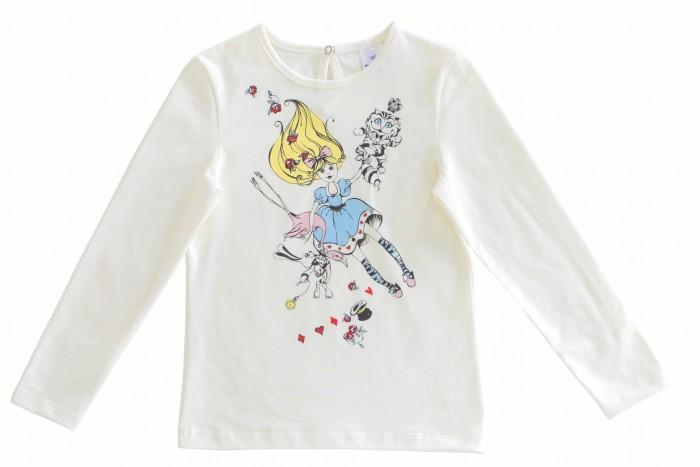 Водолазки и лонгсливы Мамуляндия Джемпер для девочки Алиса 17-0206 брюки джинсы и штанишки мамуляндия лосины для девочки алиса 17 0210