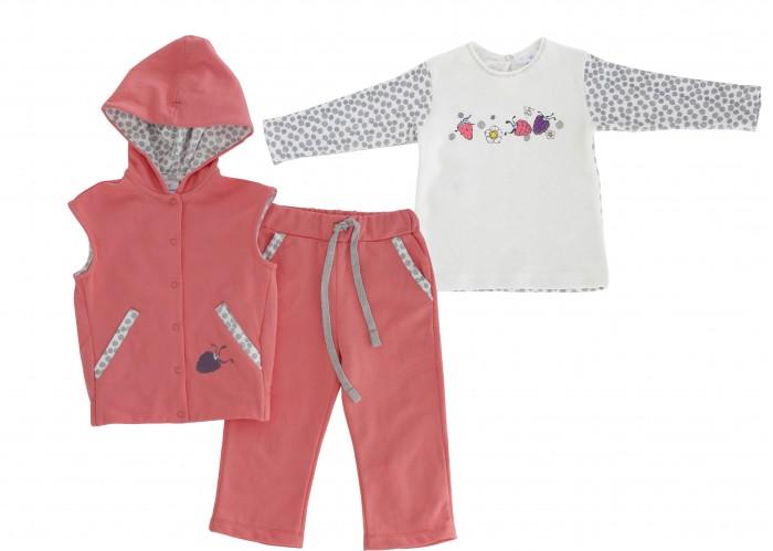Комплекты детской одежды Мамуляндия Комплект (жилет, брюки, джемпер) Ягодки 17-2017 мамуляндия комплект для новорожденного мамуляндия