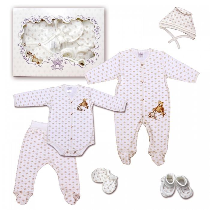 Комплекты детской одежды Мамуляндия Комплект одежды Игрушки 15-5008 (6 предметов) мамуляндия комплект для новорожденного мамуляндия