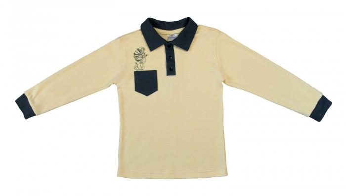 Блузки и рубашки Мамуляндия Рубашка-поло для мальчика Мистер Лев 16-0711