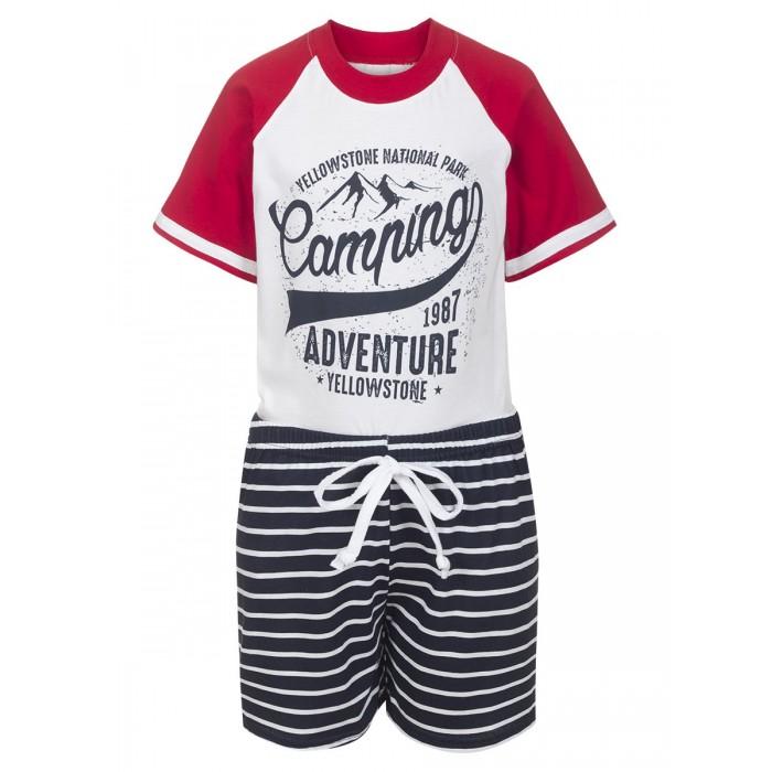 Комплекты детской одежды MD Комплект для мальчика (футболка и шорты) М1062 комплекты детской одежды elaria комплект для мальчика футболка и шорты bks01 8
