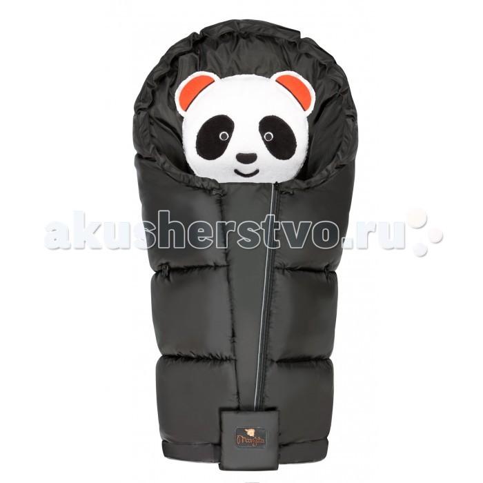 Демисезонный конверт Mansita флисовый Panda