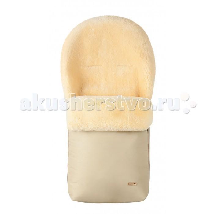 Зимний конверт Mansita MiniMiniКонверт из натуральной овчины Mansita Mini предназначен для новорожденных малышей. Он выполнен из натурального меха, который характеризуется превосходной способностью поглощать влагу и выделять тепло. В таком уютном меховом конверте ваш ребенок почувствует себя комфортно, а его тело всегда будет теплым и сухим.   Конверт Mini имеет двойную молнию, которая позволяет отстёгивать верхнюю часть, что позволяет легко укладывать и вынимать малыша из конверта. Обе части можно использовать отдельно, например, как вкладыш для детской коляски. Откидные полы из овчины можно застегнуть на пуговицы, и вашему ребенку не будут страшны никакие сквозняки.   Верхнюю и нижнюю части можно использовать как подстилку. Удобно расположенные молнии позволяют отрегулировать отворот конверта или открыть ножки ребенка. Конверты имеют разрезы на задней части для ремней безопасности.  Также на задней части конверта есть привязные шнурки, не позволяющая конверту сползать в прогулочной коляске. В конверте из овчины ваш малыш в любую погоду будет спать крепко и сладко.  Размеры конверта (шхд) 43х85 см<br>