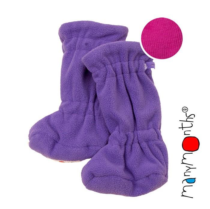 Детская одежда , Обувь и пинетки ManyMonths Пинетки теплые арт: 418424 -  Обувь и пинетки
