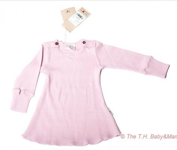 Детская одежда , Детские платья и сарафаны ManyMonths Платье с длинными рукавами арт: 418409 -  Детские платья и сарафаны