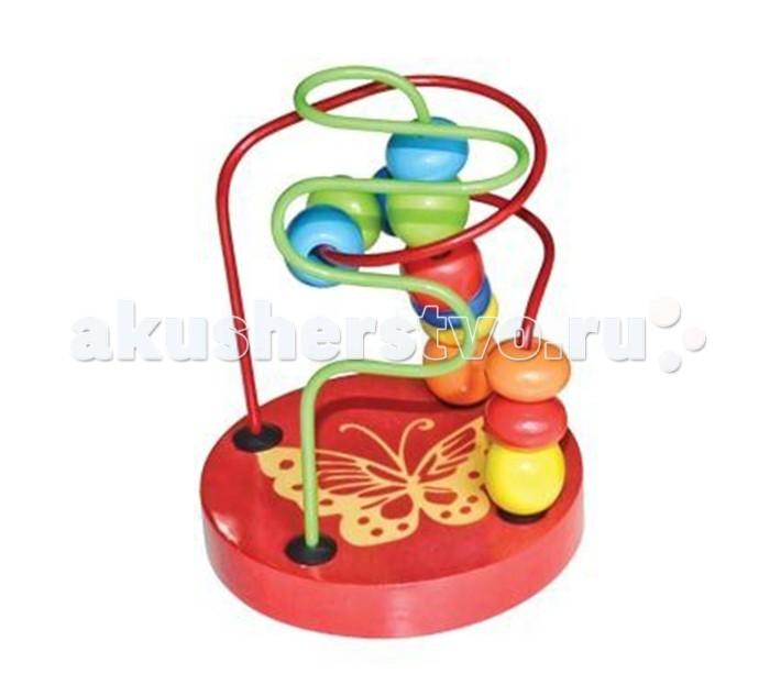 Деревянные игрушки Mapacha Лабиринт маленький деревянные игрушки mapacha логическая игрушка змейка