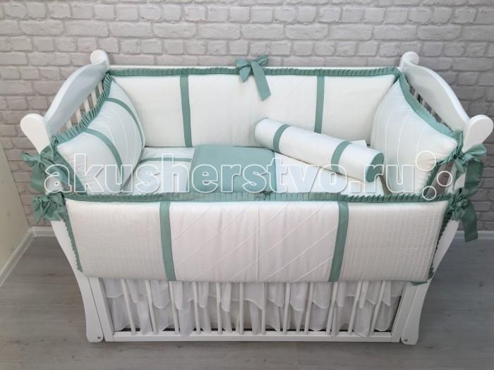 Комплекты в кроватку Marele Классика сатин (7 предметов) marele постельный сет для прямоугольной кровати marele розовая классика 10 предметов