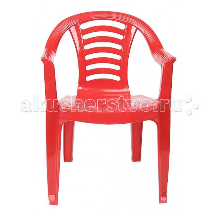 Пластиковая мебель Palplay (Marian Plast) Детский стул со спинкой песочницы palplay marian plast песочница квадратная
