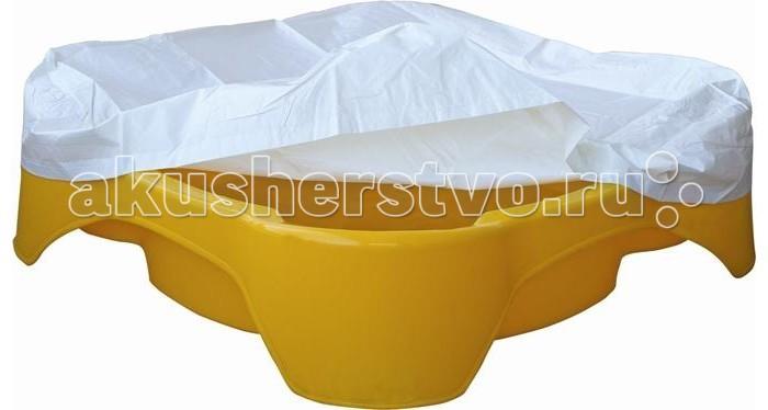 Palplay (Marian Plast) Песочница Квадратная с покрытием
