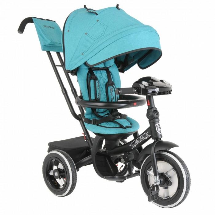 Фото - Трехколесные велосипеды Mars Mini Trike Джинс велосипед трехколесный с ручкой smartbaby надувные колеса наклонная спинка синий ts1bl