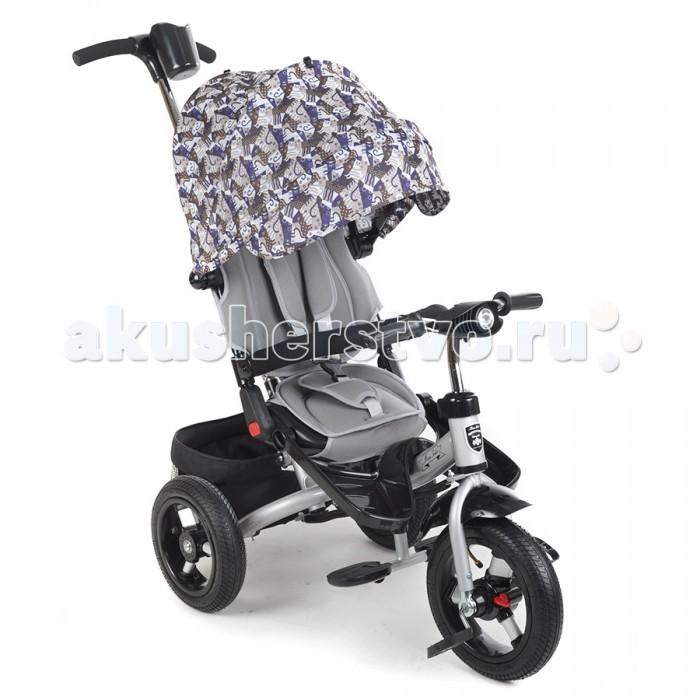Велосипед трехколесный Mars Mini Trike T400Mini Trike T400Велосипед трехколесный Mars Mini Trike T400 обеспечит комфорт и удовольствие для вашего малыша во время прогулки.  Такой универсальный детский транспорт позволяет ребенку как ездить самостоятельно, так и кататься под контролем взрослого. При самостоятельном передвижении ребенок будет приводить велосипед в движение при помощи педалей и управлять им рулем. Если же велосипед выполняет функцию прогулочной коляски, взрослый сможет толкать его перед собой при помощи специальной ручки, которая также служит и для управления.  Особенности: предназначен для детей от 1 до 4-х лет яркий, неповторимый дизайн удобная и прочная родительская ручка сидение, вращающееся на 360 градусов сиденье с высокой воздухопроницаемой спинкой и мягким тканевым вкладышем 3 уровня наклона сидения со спинкой разъемный бампер съемная широкая подставка для ног рифлёные педали надувные колеса диаметром 12/10 (переднее и задние соответственно) ножной тормоз на задние колеса регулируемый большой капор с фиксатором уровней открытости смотровое окно в задней части капора принт на капоре удобный вместительный багажник звонок свето-музыкальная панель Размеры: 80x40x90 см<br>