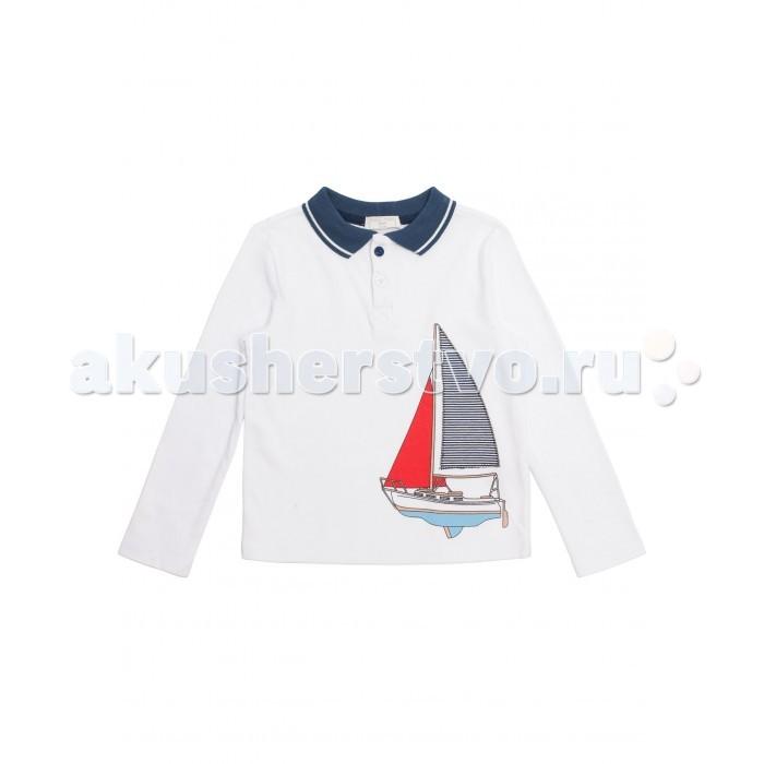 Детская одежда , Водолазки и лонгсливы Maru-maru Джемпер-поло 112171002 арт: 290851 -  Водолазки и лонгсливы
