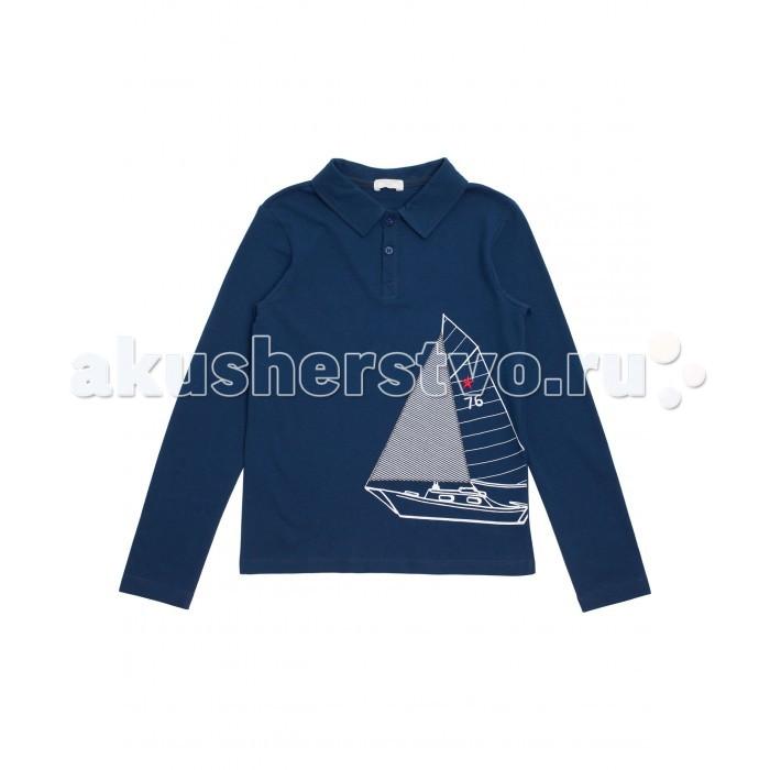 Детская одежда , Водолазки и лонгсливы Maru-maru Джемпер-поло 212171002 арт: 290839 -  Водолазки и лонгсливы