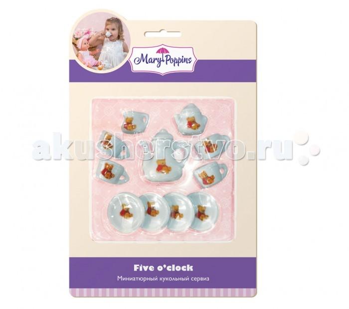 Ролевые игры Mary Poppins Набор фарфоровой мини посуды 13 предметов
