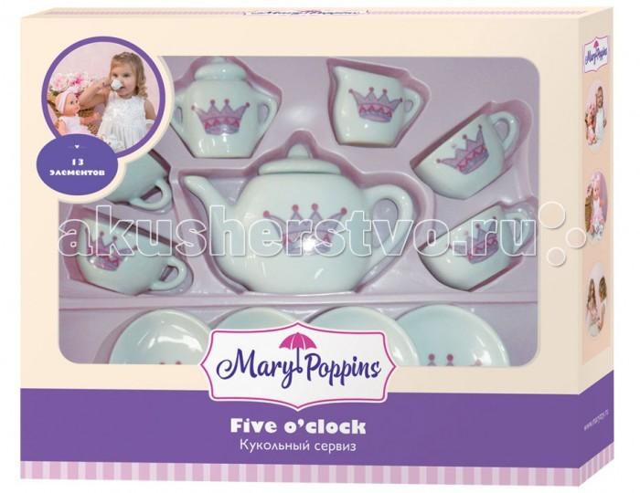 Ролевые игры Mary Poppins Набор фарфоровой посуды 13 предметов