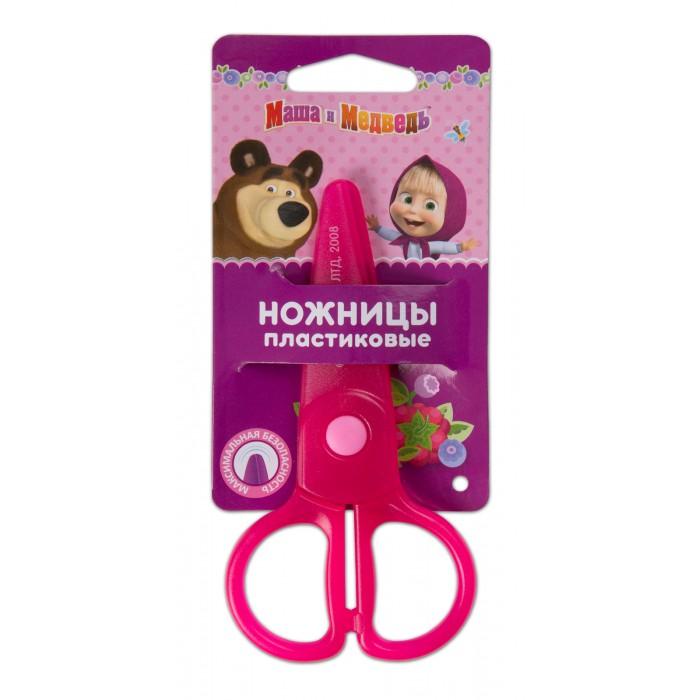 Канцелярия Маша и Медведь Ножницы пластиковые ножницы маникюрные маша и медведь