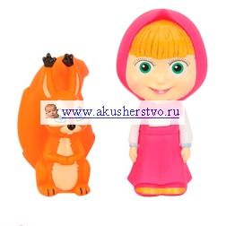 Игровые фигурки Маша и Медведь Фигурки Маша с животными