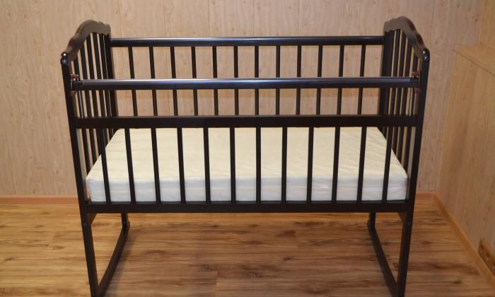 Детская кроватка Малика Melisa-2 (колесо-качалка)