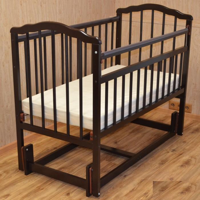 Детская кроватка Малика Melisa-3 (продольный маятник)