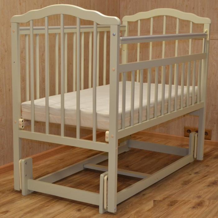Детские кроватки Malika Melisa-3 (продольный маятник) аксессуары для мебели malika маятник поперечный для кроватки mio 6 в 1