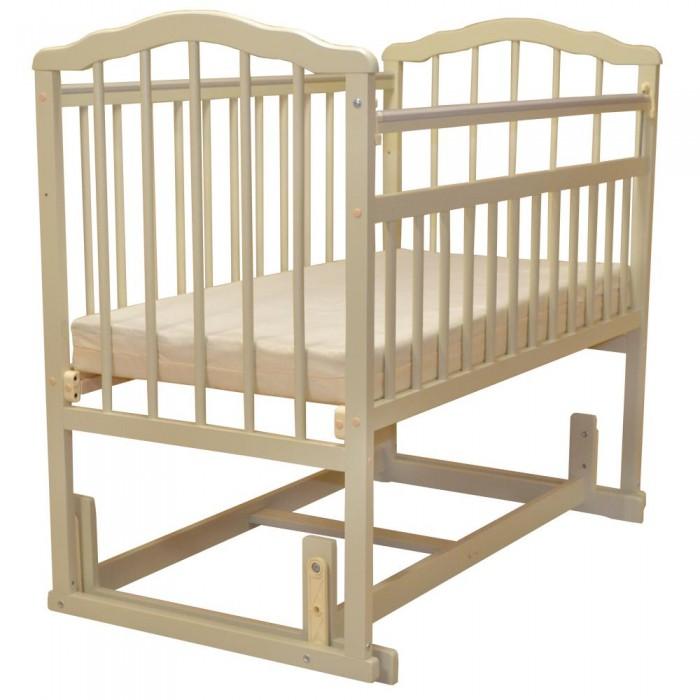 Детская кроватка Малика Melisa-4 (поперечный маятник)
