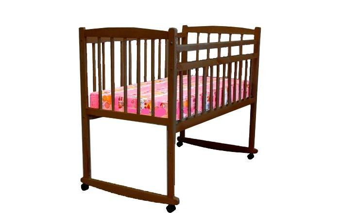 Детская кроватка Массив Беби качалка