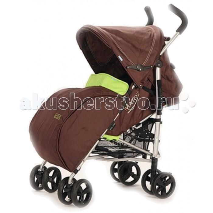 Коляска-трость Matoz PoloPoloКоляска-трость Matoz Polo – прогулочная коляска-трость для детей от 6 месяцев до 3 лет. Поворотные передние колеса придают ей маневренности и легкости в управлении, а высокие ручки будут удобны родителям любого роста.  Особенности: Алюминиевая рама  Регулировка наклона спинки в 4 положениях  5-точечные ремни безопасности с наплечниками  Регулируемая подножка  Удлиненное спальное место  Складывающийся, съемный капюшон с карманом и окошком с UV защитой Встроенный солнцезащитный козырек  Эргономичная рукоять высотой 108 см Бампер с тканевым чехлом Объемный теплый чехол для ног 4 пары сдвоенных полиуретановых колес диаметром 13 см Амортизаторы на передних и задних колесах  Независимый ножной тормоз на задних колесах. Размеры и вес: Размер в собранном виде (Ш х Д): 27 х 104 (см) Ширина сиденья 32 см  Глубина сиденья 23 см  Вес коляски без принадлежностей: 5.4 кг Вес коляски с аксессуарами: 5.8 кг. В комплекте: бампер, чехол для ног, сетка для продуктов.<br>