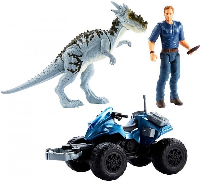 Mattel Jurassic World Игровой набор с героями фильма