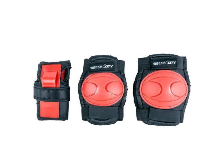 Шлемы и защита MaxCity Роликовая защита Space комплект защиты maxcity teddy m blue