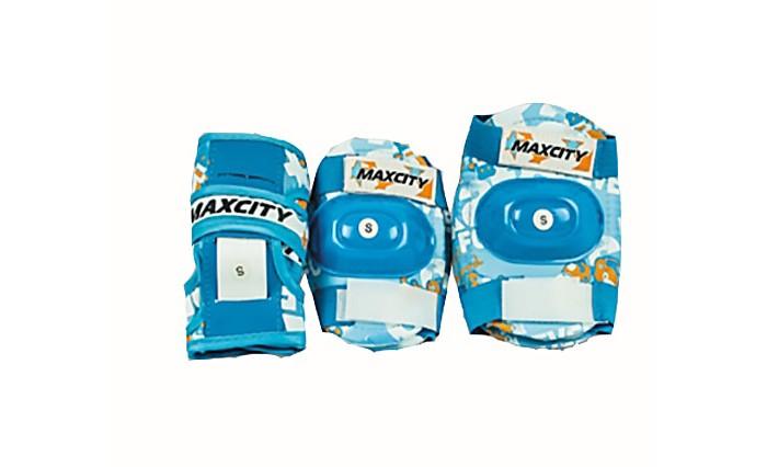 Шлемы и защита MaxCity Роликовая защита Teddy роликовая защита maxcity space red