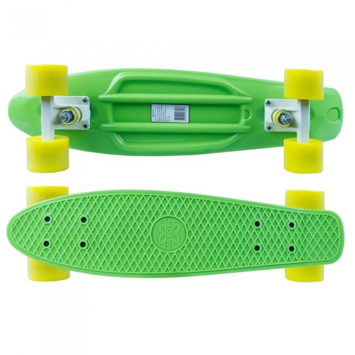 Детский транспорт , Скейтборды MaxCity Скейтборд MC Plastic Board small арт: 463521 -  Скейтборды