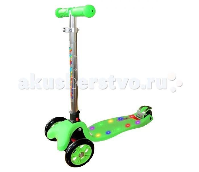 Детский транспорт , Трехколесные самокаты MaxCity MC Flex арт: 302008 -  Трехколесные самокаты