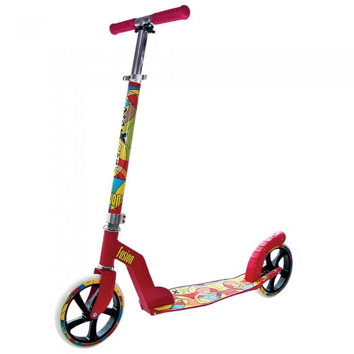 Детский транспорт , Двухколесные самокаты MaxCity MC Fusion арт: 302065 -  Двухколесные самокаты