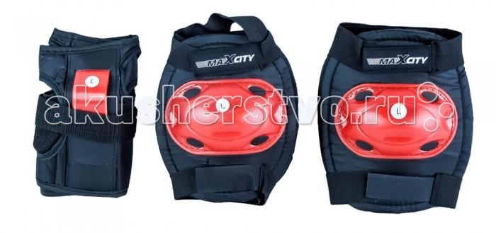 Шлемы и защита MaxCity Роликовая защита Bug роликовая защита maxcity space red