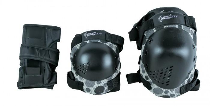 все цены на  Шлемы и защита MaxCity Роликовая защита Khaki  онлайн