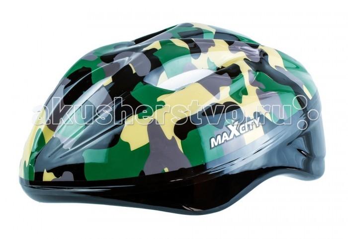 Шлемы и защита MaxCity Шлем Baby комплект защиты maxcity terminal s