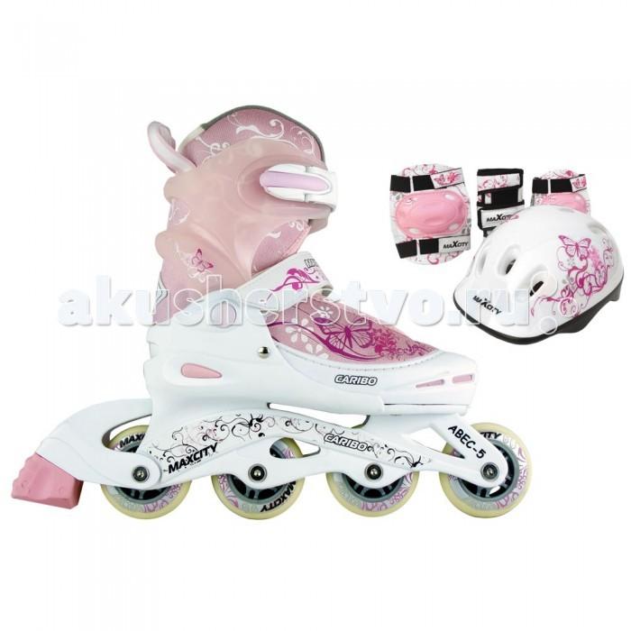 Детский транспорт , Роликовые коньки MaxCity Caribo Combo арт: 304578 -  Роликовые коньки