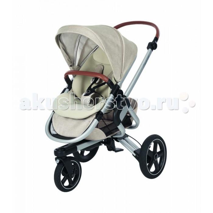 Прогулочная коляска Maxi-Cosi Nova 3Nova 3Прогулочная коляска Maxi-Cosi Nova 3 подходит от рождения до 3,5 лет.  С новой прогулочной коляской Nova вы насладитесь самой интуитивной прогулочной коляской, в которой вашему ребенку будет удобно и комфортно. с помощью Nova малыш откроет для себя удивительные прогулки на свежем воздухе. Благодаря ее умной системе управления без рук, эргономичным защитным вкладышам, вездеходным амортизирующим колесам и прочным защитным шинам прогулки станут настоящим наслаждением.  Особенности: Первый сверхпрочный и эргономичный дополнительный вкладыш Ультра-расширяемый капюшон Полностью откидное сиденье  Прогулочный блок устанавливается в 2-х направления: лицом к родителю и к дороге Регулируемая подножка и подголовник Дождевик входит в комплект 5-точечная подвеска Maxi-Cosi Бампер Кроме прогулочного блока на шасси можно установить люльку для новорожденного и любое автокресло Maxi-Cosi группы 0+ (от рождения до 13 кг) Интуитивная, уникальная система управления без рук Долговечные, защищенные от проколов внедорожные колеса Ручка регулируется по высоте родителя в 2 клика Блокируемые поворотные колеса Легко снимаемые передние и задние колеса Большая простая в использовании корзина для покупок Тормозная система работает легко, регулируется одной ногой Совместимость с замком Kensington для защиты от краж Съемное тканевое покрытие коляски можно стирать в машинке.<br>