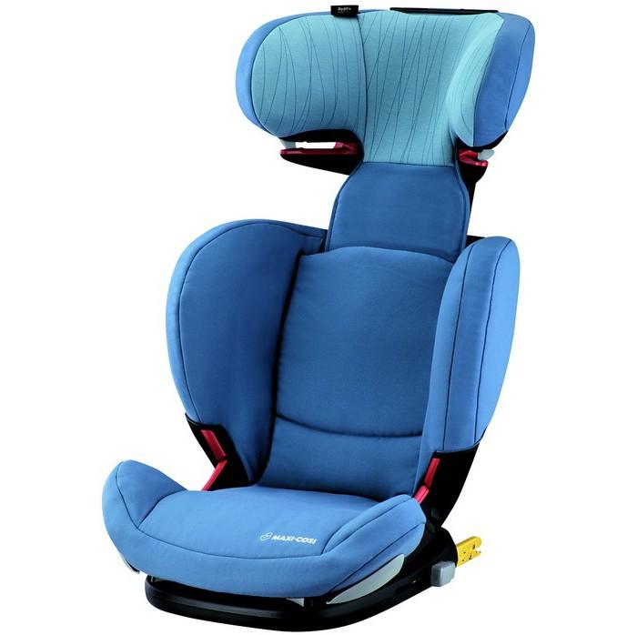 Автокресло Maxi-Cosi Rodi Fix Air ProtectRodi Fix Air ProtectАвтокресло Maxi-Cosi Rodi Fix Air Protect оснащено разъемами IsoFix для большей устойчивости в автомобиле и не имеет собственных ремней безопасности, ребенок пристегнут штатным ремнем, специальные направляющие ремней находятся на подголовнике и в области бедер.   Устанавливается исключительно по ходу движения автомобиля на заднем сиденье.  Кресло стало более глубоким, что позволяет усадить ребенка глубже и тем самым увеличить уровень пассивной безопасности. Высокие подлокотники дополнительно поддерживают ребенка в поворотах. Для обеспечения оптимального пролегания кресла к сиденью автомобиля, спинка кресла имеет регулировку угла наклона. В этой модели Вы можете регулировать спинку и по ширине.   Подголовник легко регулируется по высоте под рост ребенка, увеличивая высоту спинки до 16 сантиметров, имеет 8 фиксируемых положений. Модель отличается наличием уникальной системы защиты области головы, что достигнуто благодаря подголовнику, выполненному по технологии Air Protect, то есть «воздушные подушки». Это обеспечивает погашение ударной волны при резком торможении машины или при столкновениях. Разнообразные регулировки позволяют, чтобы Ваш ребенок на протяжении всего срока использования автокресла будет путешествовать с комфортом.  Особенности: Материал: прочный каркас, чехол из гипоаллергенного материала (не удерживает посторонние запахи, не воспламеняется, хорошо поглощает влагу).  Съемная обивка легко стирается при температуре 30 C Подголовник регулируется по высоте (8 положений), широкие и удобные боковины Боковая защита «Air Protect» - воздушная защита, мягкие вкладыши в боковинах подголовника Крепление в автомобиле - По ходу движения; оснащено разъемами IsoFix  Размеры внешние (шхгхв) 48х46х66-83 см Ширина сиденья  27 см Высота спинки  от 32 до 52 см<br>