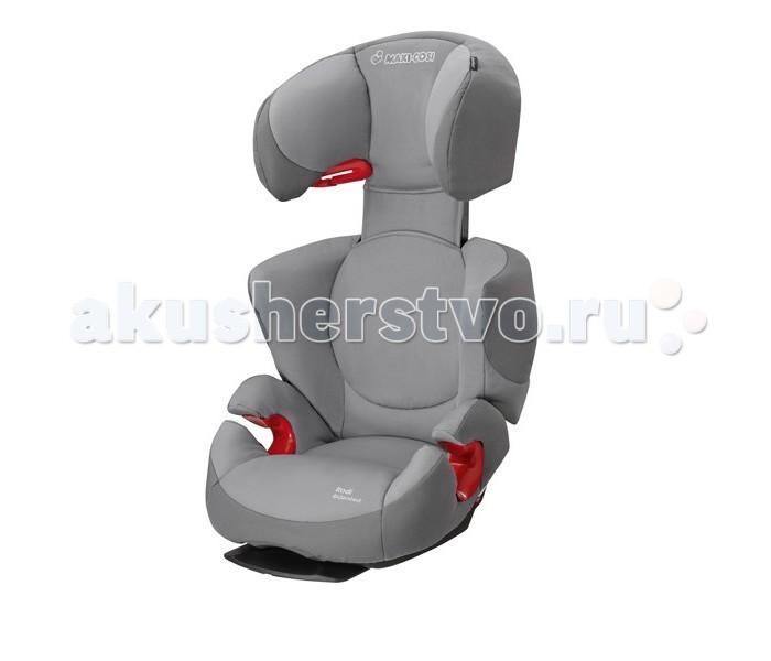 Автокресло Maxi-Cosi Rodi Air ProRodi Air ProАвтокресло Maxi-Cosi Rodi Air Pro - победитель краш-теста немецкого клуба ADAC в 2010 году (в группе 2/3). Имеет дополнительные вставки (Air Protect - воздушные подушки) в подголовник обеспечивающие еще большую безопасность. Модернизированная версия кресла Rodi XR. Имеет дополнительные вставки в подголовник обеспечивающие еще большую безопасность. Кроме этого, имеет независимую регулировку наклона спинки сидения, а так же регулировку высоты.  Особенности:  Разработано для детей от 15 до 36 кг (возрастом примерно от 3,5 до 12 лет)  Крепится в автомобиле 3-х точечным штатным ремнём безопасности.  Благодаря отклоняющейся спинке и удобной основе автокресло можно перевести в положение комфортного отдыха.  Подголовник у модели Maxi-Cosi Rodi AP легко регулируется и имеет 8 фиксируемых положений, при этом высота спинки увеличивается до 16 см.  Усиленная боковая защита, и максимальная защита головы (Air Protect - воздушная защита). Благодаря специальному подголовнику с дополнительными воздушными карманами обеспечивается защита и сокращается риск серьезных повреждений головы и шеи как маленьких, так и высоких детей.  Спинка регулируется по ширине.  Специальная скоба в районе подголовника служит дополнительным креплением кресла в машине.Данное приспособление позволяет избежать скольжения кресла из стороны в сторону даже при совершении резких поворотов автомобиля.  Съёмные чехлы легко стираются при t 30°C , в режиме деликатной стирки.  Соответствует Европейскому стандарту безопасности ЕСЕ R44/04.  Вес 5,1 кг.<br>