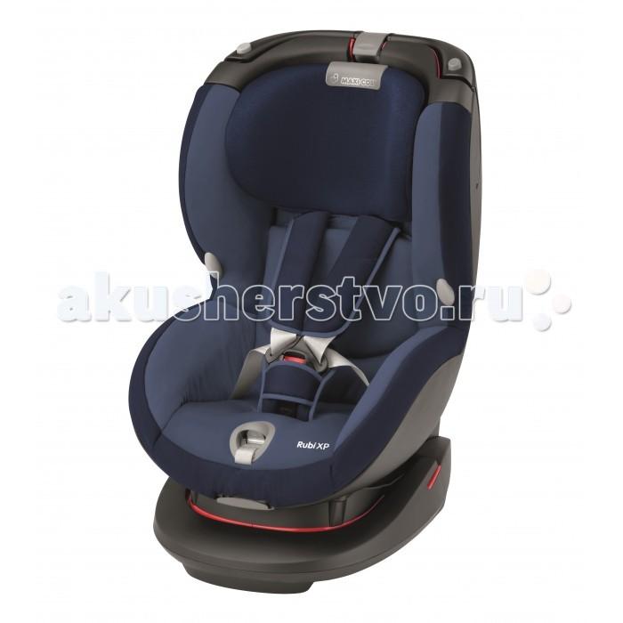Автокресло Maxi-Cosi Rubi XPRubi XPДля того чтобы малыш чувствовал себя безопасно и комфортно в длительных поездках производитель Maxi-Cosi выпустил модель детского автокресла Rubi XP с очень удобными подлокотниками и мягкими боковинками. Автомобильное автокресло Maxi-Cosi Rubi XP полностью соответствует требованиям ECE-R44/04, имеет ортопедический подголовник, который дает дополнительную защиту и меняет 7 разных положений по росту малыша.   Анатомическая форма автокресла Maxi-Cosi Rubi XP позволяет формировать правильную осанку Вашего малыша, кресло достаточно высокое и поэтому ребенок сидит на уровне взрослых, тем самым поездки становятся намного увлекательней. А если Ваш малыш устал можно поменять положение спинки, чтоб путешествие продолжалось в расслабленной позе. Автокресло Maxi-Cosi Rubi XP выполнено из ударопрочного материала и прошел многочисленные проверки и тесты по качеству, и комфорту.  Сидение: автокресло предназначено для детей весом от 9 до 18 кг (возраст от 9 месяцев до 4-х лет) автокресло соответствует европейскому строгому стандарту безопасности  ECE R44/04 система боковой защиты обеспечивает максимальную защиту при боковых ударах усовершенствованная система безопасности головы и плеч мягкий подголовник делает кресло более комфортным для малыша 4 положения наклона спинки подголовник регулируемый по высоте в 7 положениях, что позволяет автокреслу подстроится  под растущего ребенка, и расти вместе с ним 5-ти точечные ремни безопасности детское автокресло Maxi-Cosi Rubi XP выполнено с централизованной системой натяжения внутренних ремней специальные крючки автомобильного кресла для детей позволят зафиксировать ремни безопасности при посадки малыша подголовник и ремни безопасности регулируются одновременно съемный чехол для  стирки  Крепление: крепится на пассажирском сиденье по ходу движения фиксируется штатным ремнем безопасности упрощенная система крепления штатным автомобильным ремнем не позволит родителям допустить ошибку в установке автокресла в