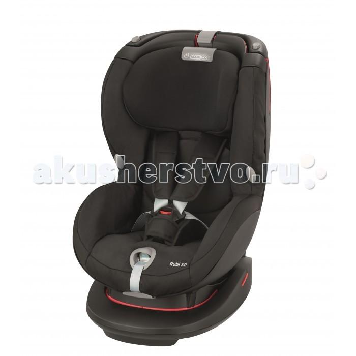 Автокресло Maxi-Cosi Rubi XPRubi XPДля того чтобы малыш чувствовал себя безопасно и комфортно в длительных поездках производитель Maxi-Cosi выпустил модель детского автокресла Rubi XP с очень удобными подлокотниками и мягкими боковинками. Автомобильное автокресло Maxi-Cosi Rubi XP полностью соответствует требованиям ECE-R44/04, имеет ортопедический подголовник, который дает дополнительную защиту и меняет 7 разных положений по росту малыша.   Анатомическая форма автокресла Maxi-Cosi Rubi XP позволяет формировать правильную осанку Вашего малыша, кресло достаточно высокое и поэтому ребенок сидит на уровне взрослых, тем самым поездки становятся намного увлекательней. А если Ваш малыш устал можно поменять положение спинки, чтоб путешествие продолжалось в расслабленной позе. Автокресло Maxi-Cosi Rubi XP выполнено из ударопрочного материала и прошел многочисленные проверки и тесты по качеству, и комфорту.  Сидение: автокресло соответствует европейскому строгому стандарту безопасности  ECE R44/04 усовершенствованная система безопасности головы и плеч мягкий подголовник делает кресло более комфортным для малыша 4 положения наклона спинки подголовник регулируемый по высоте в 7 положениях, что позволяет автокреслу подстроится  под растущего ребенка, и расти вместе с ним 5-ти точечные ремни безопасности детское автокресло Maxi-Cosi Rubi XP выполнено с централизованной системой натяжения внутренних ремней специальные крючки автомобильного кресла для детей позволят зафиксировать ремни безопасности при посадки малыша подголовник и ремни безопасности регулируются одновременно съемный чехол для  стирки  Крепление: крепится на пассажирском сиденье по ходу движения фиксируется штатным ремнем безопасности упрощенная система крепления штатным автомобильным ремнем не позволит родителям допустить ошибку в установке автокресла в автомобиле направляющие для ремня расположены таким образом, что установка автокресла происходит на интуитивном уровне ребенок внутри модели фиксируется внутренним