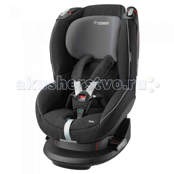 Автокресло Maxi-Cosi TobiTobiMaxi-Cosi Tobi - это универсальное детское автомобильное сидение для детей весом 9-18 кг. Его следует применять на сидениях, направленных вперед. Устанавливаться может при помощи системы трехполосного ремня безопасности.   Новаторские легкосъемные ремни; ремни и пряжки больше не мешают  Удобная регулировка подголовника и ремней спереди изделия одной рукой  Система боковой защиты обеспечивает оптимальную защиту от боковых ударов  Особо прочная установка в машине -> натяжные устройства для ремня безопасно удерживают автомобильное сидение  Цветовой индикатор для подтверждения правильного размещения ребенка  Головной ремень для дополнительной защиты головы  Ручка на пружине, изменяющая позицию от положения сидя до положения лежа (5 позиций)  Чехол легко снимается без открывания ремня через специальное отверстие в чехле  Подушки для ремня легко снимаются / устанавливаются  Простое управление ремней  Регулировка высоты подголовника спереди даже тогда, когда ребенок находится в сидении (7 позиций)  Возможность удлинить ремни безопасности одной рукой (не нажимая на кнопку)  Чехол легко снимается и моется (имеются запасные чехлы)<br>