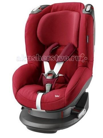 Автокресло Maxi-Cosi TobiTobiАвтокресло Maxi-Cosi Tobi - это универсальное детское автомобильное сидение для детей весом 9-18 кг. Его следует применять на сидениях, направленных вперед. Устанавливаться может при помощи системы трехполосного ремня безопасности. Автокресло Maxi-Cosi Tobi обеспечит малышу высокое положение в машине, благодаря чему он  будет прекрасно видеть все, что происходит внутри и снаружи автомобиля. А когда придет время для сна, вы сможете легко откинуть автокресло в соответствующее положение.  Для обеспечения Вашего спокойствия ремень безопасности оснащен цветным индикатором, подтверждающим то, что Ваш ребенок надежно закреплен.  Автокресло прочно крепится в автомобиле с помощью ремня безопасности и системы натяжения ремней.   Новаторские легкосъемные ремни; ремни и пряжки больше не мешают  Удобная регулировка подголовника и ремней спереди изделия одной рукой  Система боковой защиты обеспечивает оптимальную защиту от боковых ударов  Особо прочная установка в машине -> натяжные устройства для ремня безопасно удерживают автомобильное сидение  Цветовой индикатор для подтверждения правильного размещения ребенка  Головной ремень для дополнительной защиты головы  Ручка на пружине, изменяющая позицию от положения сидя до положения лежа (5 позиций)  Чехол легко снимается без открывания ремня через специальное отверстие в чехле  Подушки для ремня легко снимаются / устанавливаются  Простое управление ремней  Регулировка высоты подголовника спереди даже тогда, когда ребенок находится в сидении (7 позиций)  Возможность удлинить ремни безопасности одной рукой (не нажимая на кнопку)  Чехол легко снимается и моется (имеются запасные чехлы)<br>